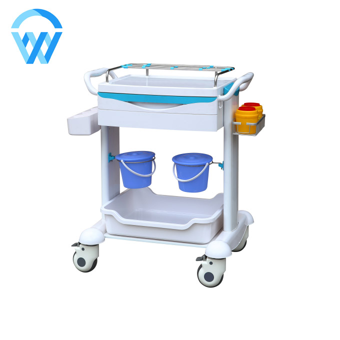 WCM-BK003 ABS Medical Treatment Trolley Hospital Trolley