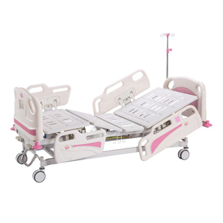 B-001 ABS luxury three function manual hospital bed