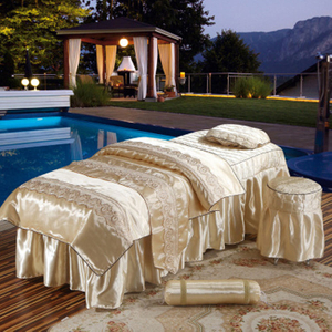 Luxury Soft Washed Silk Fabric Bedding Set Bed Sheet